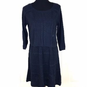 American Eagle Outfitters Blue Sweater Dress NWT